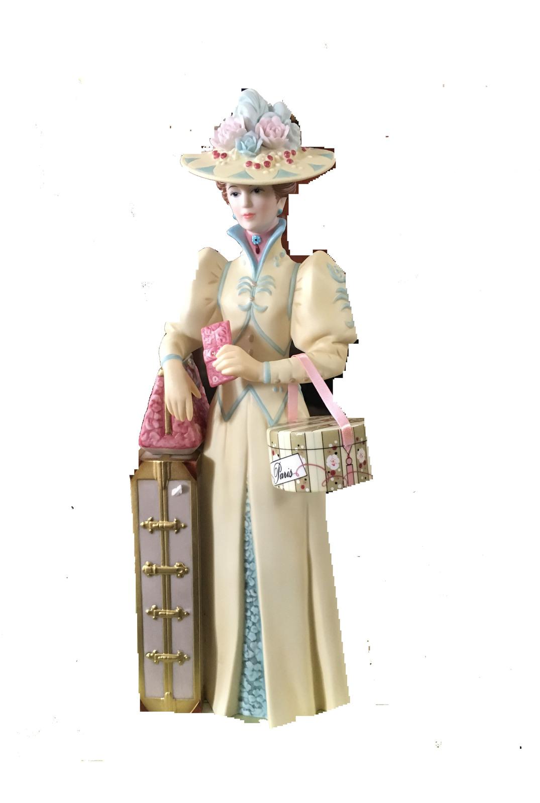 Avon 2002 mrs p f.e. albee figurine   front pic