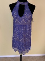Midnight Doll Size Small  New Lace Dress In Purple - $19.80