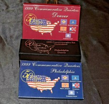 Commemorative Uncirculated 50 State Quarter Collection AA20-CNQ7044 1999