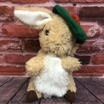 "Vintage Eden Toy Rabbit Benjamin Bunny Beatrix Potter 13"" Stuffy Cuddly ... - $19.99"