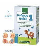 Holle Lebenswert Stage 1 Organic Formula,5 Boxes,0-6 months,500g(17.4oz)... - $93.95