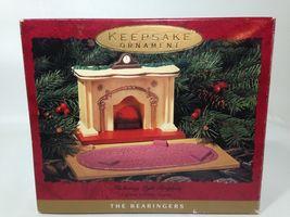 Hallmark Bearingers Flickering Lighted Fireplace 1993 Christmas Ornament  - $18.99