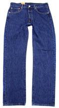Levi's 501 Men's Original Fit Straight Leg Jeans Button Fly 501-0194 image 3