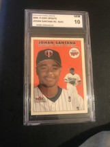 2000 Fleer Tradition Update #U43 Johan Santana PGA GRADED 10 GEM MINT RC - $8.45