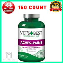 Vets Best Aspirin Free Aches + Pains Dog Supplement for Dog , 150 Count ... - $38.60