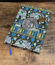 Elephant Fabric Hardcover Lined Journal - $13.00