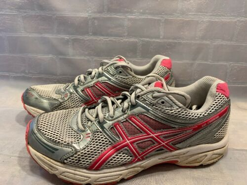 ASICS Gel Conteno Running Sneakers Shoes Women's 7.5 T2N8Q Grey Pink