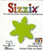 Sizzix Snowflake #2 Die #38-0247