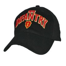 Us Army 25th Infantry - U.S. Army Military Black Baseball Cap Hat - $20.99