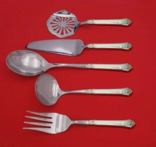 Damask Rose by Oneida Sterling Silver Thanksgiving Serving Set 5pc Custo... - $359.00