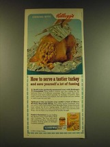 1966 Kellogg's Croutettes Stuffing Ad - Borden's None Such Mince Meat - $14.99