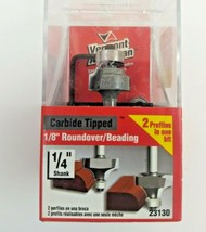 """Vermont American 23130 Carbide Tipped Silver Series Router Bit, 3/4"""" OD - $14.99"""