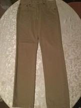 Teen/Mens/Boys- Levi jeans - 511 - Size 30x32 - brown khaki denim jeans - $27.99