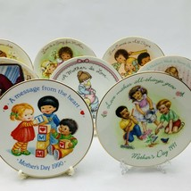 Avon Mothers Day Plates Set of 11 with Easels 1981-1991 image 2