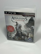 Assassin's Creed III  (Sony Playstation 3, 2012) PS3 Complete - $2.99