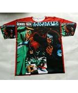 Genius GZA Liquid Swords T Sublimated Shirt  bred powder legend  wu tang - $33.00