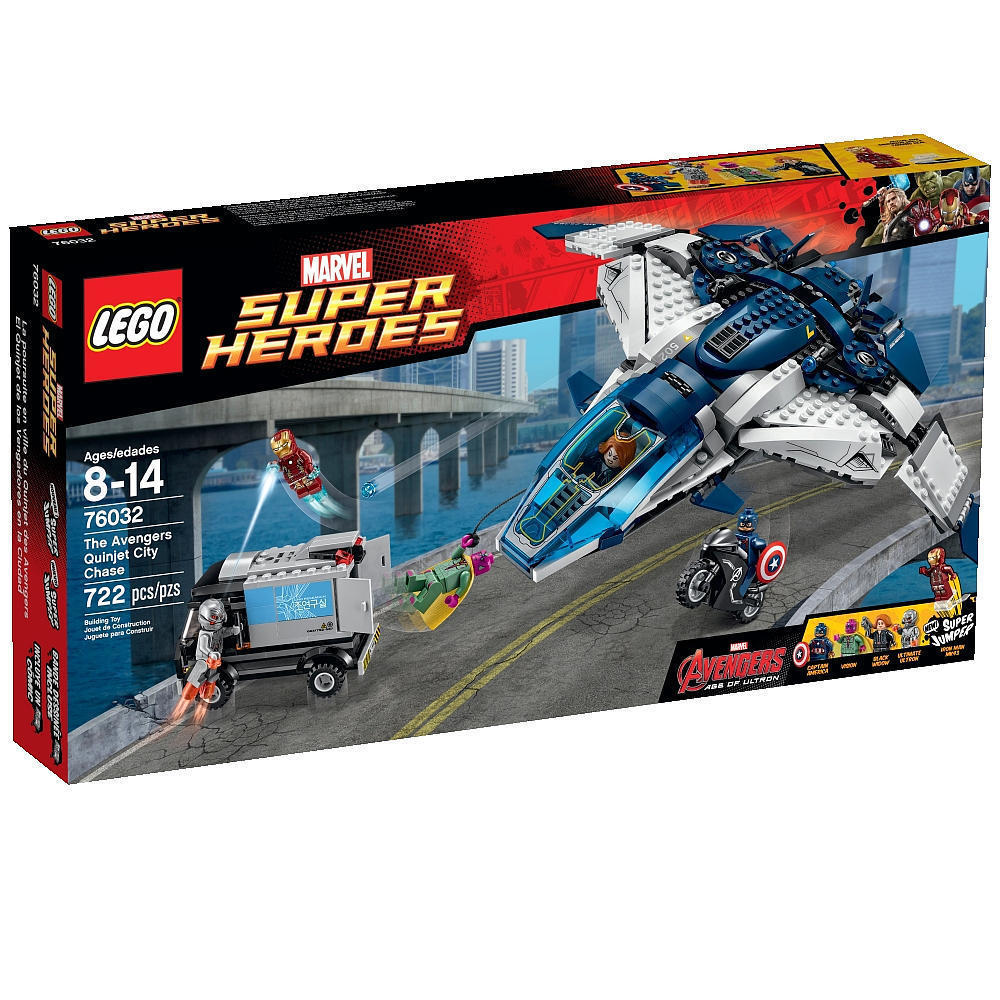 LEGO 76032 Marvel Super Heroes Avengers Quinjet City Chase [New] Building Set