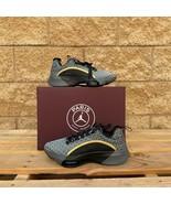 "Jordan Air Zoom Renegade PSG MEN'S ""Black/Gold/Bordeaux""running shoes CZ... - $139.99"