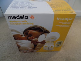 Medela Freestyle Mobile Double Electric Breast Pump Complete System--FRE... - $145.88