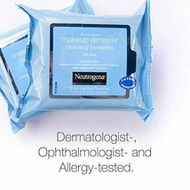 Neutrogena Makeup Remover Cleansing Face Wipes Daily Cleansing Facial To... - $11.67