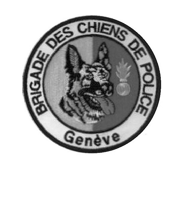 Anine switzerland geneva county police k9 canine unit patch velcro tactical grey  4 x 4 in 10.99