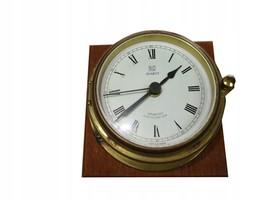SHIP CLOCK QUARTZ SOVAERNET DENMARK /#.5 8373 - £53.24 GBP