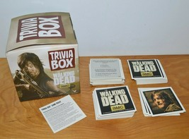 WALKING DEAD TRIVIA BOX CARD SET GAME AMC TELEVISION SERIES 2014 - $5.66