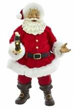 Kurt S. Adler Coca-Cola Santa with LED Bottle 10.5 Inch Statue - $69.28