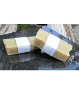 Rhassoul Clay Tea Tree EO  Soap Vegan Friendly Two Somewhat Rectangular Bars - $10.99