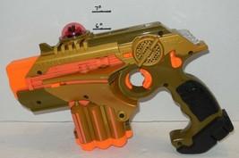 Hasbro Nerf Phoenix LTX Laser Tag Gun Blaster Pistol Gold - $46.75