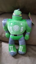 "Green Robot Brand New Plush Stuffed Animal w/ Tags 14"" Sugar Loaf - $7.99"