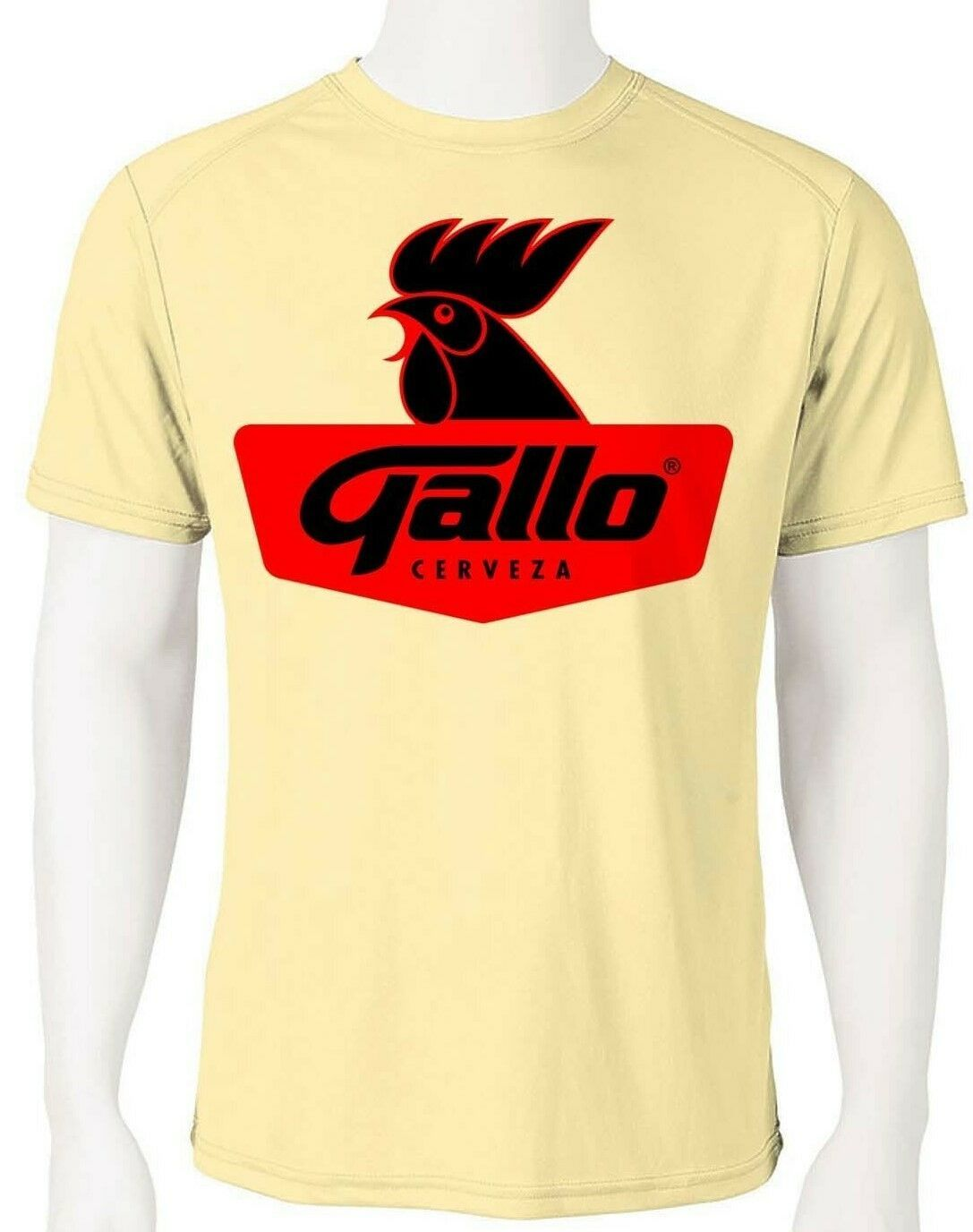 Gallo Dri Fit graphic Tshirt moisture wicking beer beach sun protection Sun Shir