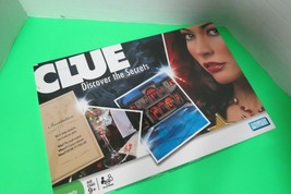 Clue Discover The Secrets 2008 Board Game Parker Brothers Hasbro Complete - $16.00