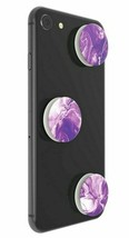 3 Pack PopSockets Purple Marble Bombs PopMinis Cell Phone Grip & Stand NEW image 2