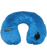 Travel Smart TS44NVYX EZ Inflate Fleece Neck Rest (Navy) - $27.97