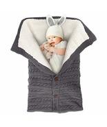 MODOKING Newborn Infant Nursery Swaddle Blanket - Warm Cozy and Soft (Grey) - $24.99
