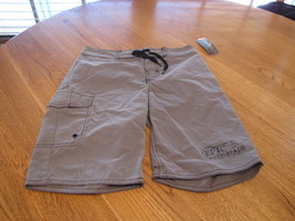 Boy's Youth Epic Threads board shorts S stellar charcoal surf casual NEW - $6.94