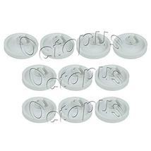 10Pk 154174501 Dishwasher Lower Rack Roller Fits AP2135554, PS452448, 53... - $49.00