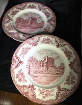 2 EC VTG Johnson Bros Earthenware Dinner Plates... - $19.79