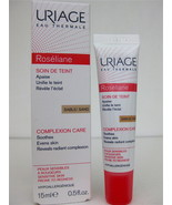 URIAGE ROSELIANE Evens Complexion Skin Care Sable/Sand Anti-Redness TINTED - $27.71