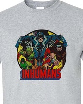 Shirt black bolt medusa retro vintage silver age comics for sale online store gray tees thumb200