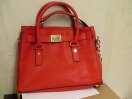 Michael Kors Women Handbag, Hamilton Saffiano Leather EW Satchel - $148.45