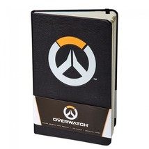 Overwatch Logo Journal Notepad Notebook Hardcover 192 Pages Blizzard Bli... - $36.99
