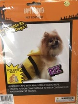 Pet Halloween Costume Yellow  Bee Dog or Cat Yellow / black Parade Small... - $5.99