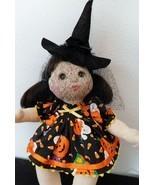 MY CHILD 3 Pc. HALLOWEEN DRESS PANTIES & WITCH HAT SET Cute Pumpkin & Ca... - £32.39 GBP