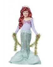 California Disfraces Sirenita Ariel Mar Infantil Cosplay Disney Disfraz ... - $24.05