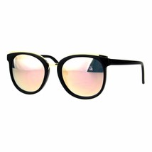 Womens Fashion Sunglasses Double Frame Gold Top Stylish Shades UV 400 - $11.95