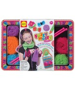 Alex Fuzzy Wuzzy Knitting Craft Kit Super Soft Yarn Needles 6 Colorful Y... - $26.99