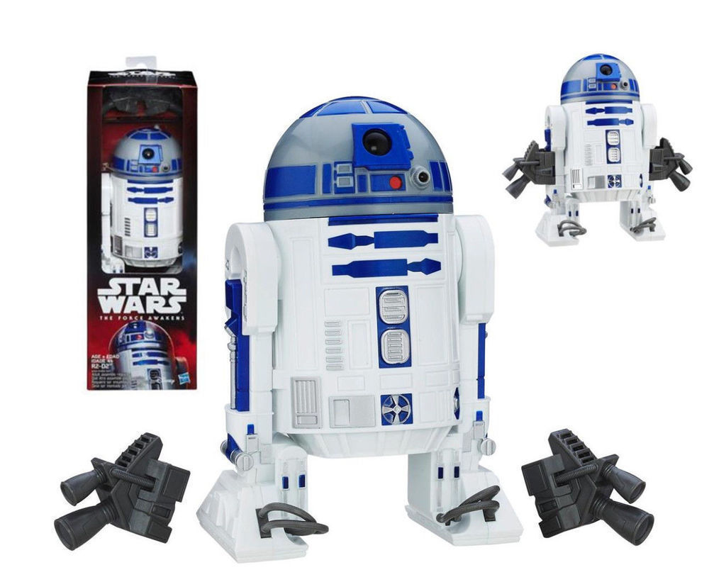 Star Wars R2-D2 Action Figure From 12-inch Hero Series Wave 5 Force Awakens