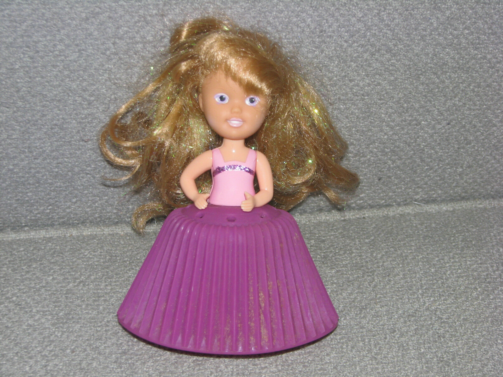 TONKA CUPCAKE DOLLS PINK PURPLE GIRL - $17.22
